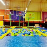 Foam Pit With Balance Beam